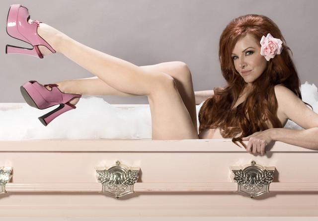 Caskets - Pink Casket $100 per week rental Coffin_Bubble_Bath Final_Gretchen