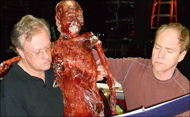 Acid burned corpse for Teller (of Penn & Teller) and Todd Robbins'