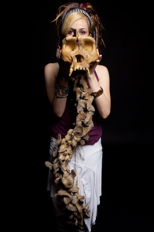 Replica gorilla skull and spine $1000.jpg