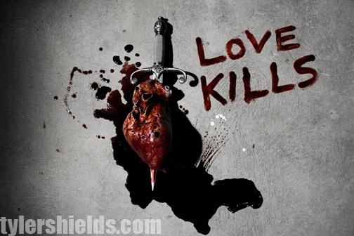 Heart - Large latex  seen in Tyler Shields