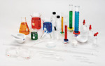 Assorted Labware - 25 piece glassware assortment $100.jpg