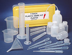 Assorted Labware - 20 piece plasticware kit