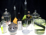 Assorted Glassware - Vintage labware assortment $200.jpg