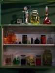 Assorted Oddities - beyond - skull cabinet