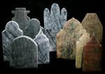 Middle Eastern Style headstones.JPG