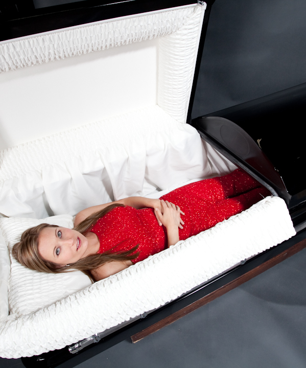 ... and Coffins :: Caskets_Gloss_Black_with_white_lined_interior_10