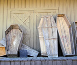 Coffin Props - Western Pine Boxes