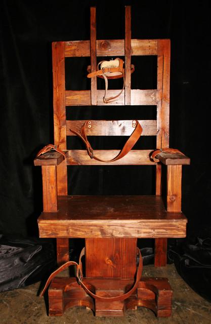 Chairs - Electric Chair $200 00.JPG