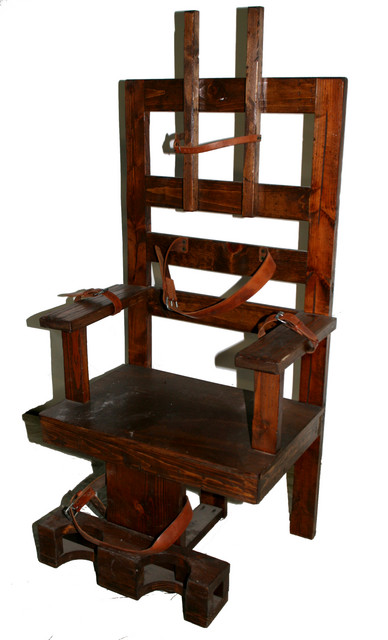Chairs - electric chair