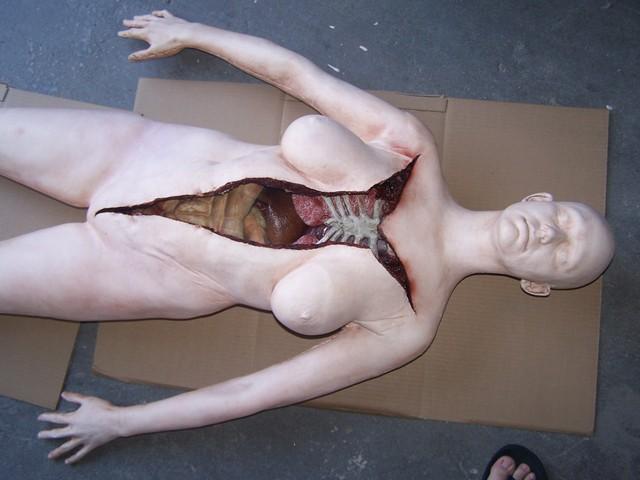Autopsy - Deluxe Female Autopsy Body  17 prop