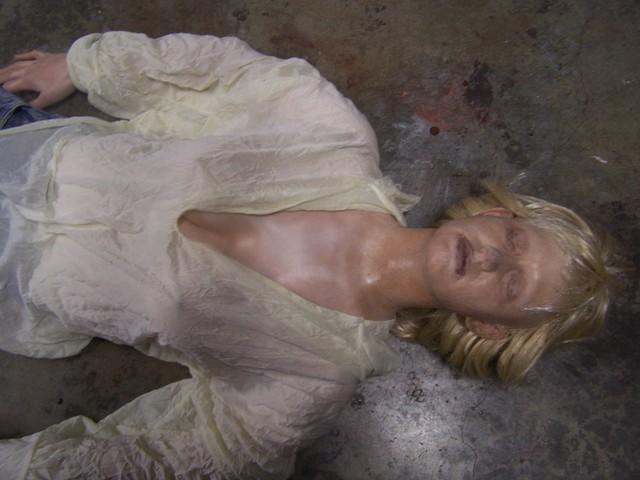 Jessica half anatomical stunt dummy