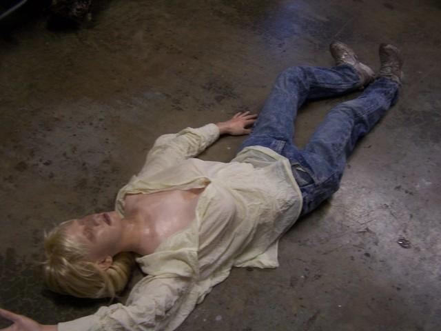 Jessica half anatomical stunt dummy  77
