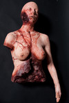 bloody dismembered female torso -135