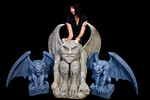 giant gargoyles set of 3.sized
