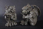 gothic gargoyle pair 10