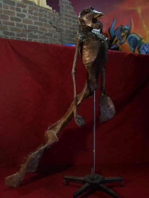 6 ft feegee mermaid on stand