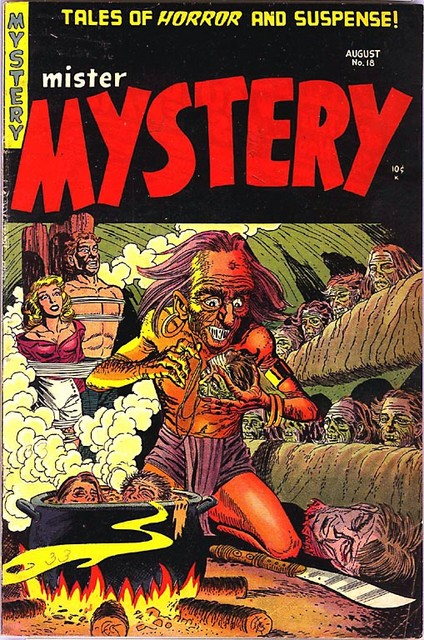 2005-04-28 Mister Mystery No18 Aug 1954 Stanmore Bernard Bailey cover