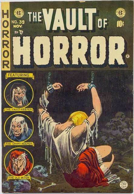 2005-09-09 Vault of Horror No39 Nov 1954 EC Johnny Craig cover