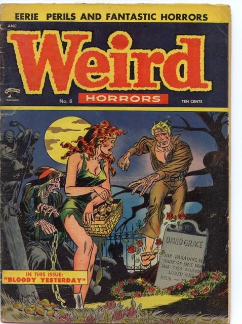 2005-09-17 Weird Horrors No8 June 1953 St. John Joe Kubert cover