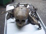 antique toddler skull and bones 350.JPG