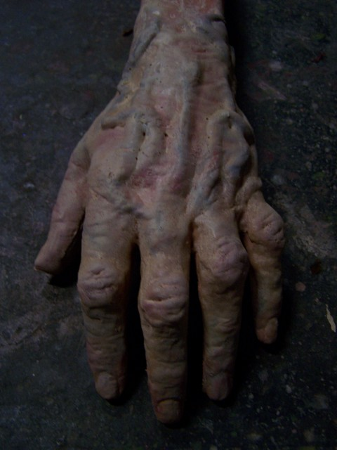 Hands - aged hand