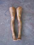 black jessica leg pair