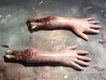 Hands - hands with bone