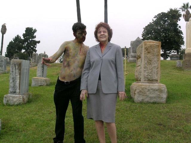 cemetery stroll
