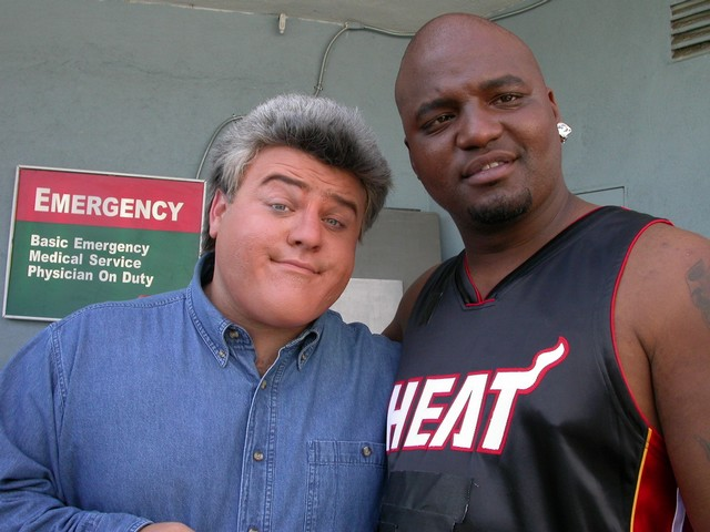 s Jay Leno and Shaq