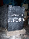 Headstones - J. Ford Headstone 2034