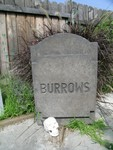 Headstones - 4 ft tall Rental Tombstone Prop custom engraved Burrows 331