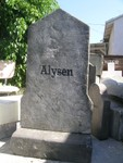 Headstones - Custom Engraved, 4ft tall Alysen Stone