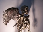 Halloween Skeleton - angel skeleton 5 $200