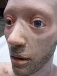 anatomical head props - andy with stubble 69 