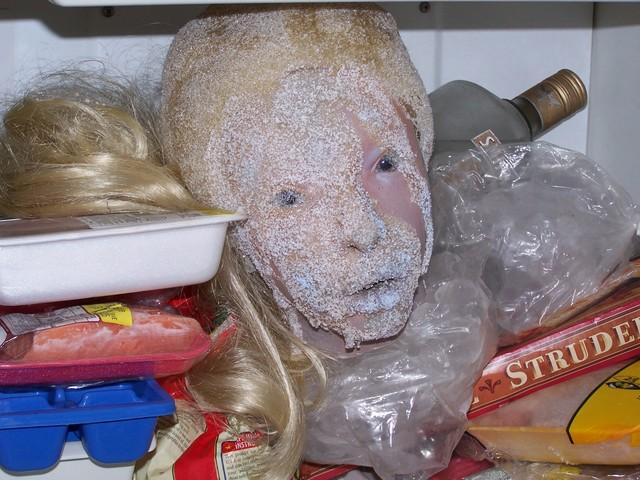 Injury Heads - frozen head  91