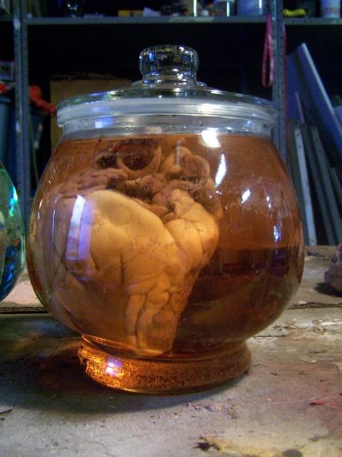 Hearts - sheep heart candy jar 7
